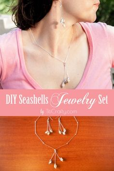 DIY Seashells Jewelry Set - Titicrafty by Camila