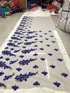 PC 1199 Designer Bridal Sarees Bridal Sarees, Work Sarees, Embroidery, Collection, Design, Decor, Decorating, Drawn Thread, Dekoration