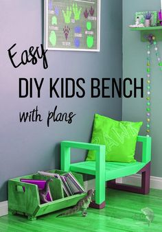 Fun Woodworking Projects So cute! Learn how to make a DIY Kids bench using $10 in lumber. Easy quick beginner project! This diy kids bench seat is perfect for indoors or outdoors. #anikasdiylife #woodworking #kidsfurniture.Fun Woodworking Projects  So cute! Learn how to make a DIY Kids bench using $10 in lumber. Easy quick beginner project! This diy kids bench seat is perfect for indoors or outdoors. #anikasdiylife #woodworking #kidsfurniture Woodworking Ideas Table, Awesome Woodworking Ideas, Woodworking Furniture Plans, Unique Woodworking, Woodworking Projects That Sell, Woodworking Shop, Green Woodworking, Japanese Woodworking, Router Woodworking