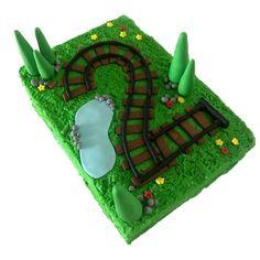 Train Track Cake Kit - Train Cake Kit - First Birthday Cake Diy Birthday Cake, First Birthday Cakes, Birthday Party Themes, Third Birthday, Birthday Ideas, Race Track Cake, Thomas Cakes, Cake Kit, Elephant Cakes