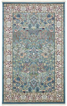 Blue x Nain Design Rug Hall Carpet, Diy Carpet, Modern Carpet, Rugs On Carpet, Carpet Ideas, Stair Carpet, Blue Carpet, Carpet Colors, Room Rugs