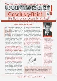 Hermann Scherer: Coaching-Brief