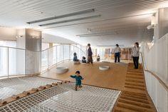 Kitakami儿童健康保障综合设施,日本 / UtA/Unemori teco Associates - 谷德设计网