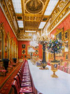 The Dining Room at Apsley House, No 1 London, one time home of the Duke of Wellington