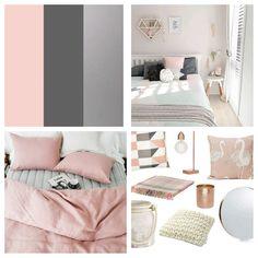 #adultpink inspired Bedroom Colour Palette, Bedroom Color Schemes, Bedroom Colors, Room Decor Bedroom, Home Bedroom, Blush Bedroom Decor, Bedroom Ideas, Pink Bedroom Design, Pink Room