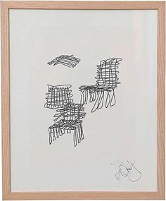 Rare signed lithograph by Frank Gehry from This example comes from the collection of a former board member of the Museum of Modern Art. Landscape Architecture Drawing, Architecture Quotes, Chinese Architecture, Modern Architecture House, Futuristic Architecture, Modern Houses, Bilbao, Frank Gehry Sketch, Modern Tropical House