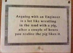 What engineers and pigs have in common