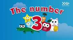 The number 3 for kids #videoseningles #numeroseningles #videosbb  #videosninos #videoseducativos