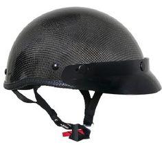 Akoury AK-66 Carbon Fiber Matte DOT Helmet | Motorcycles ...