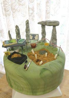 Torte Archeologiche: scavo archeologico