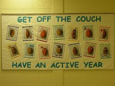 PEC: Bulletin Boards for Physical Education- GET OFF THE COUCH
