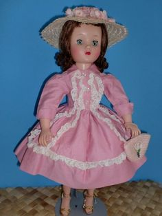 PRETTY IN PINK -  1950's Alexander - ELISE - Tagged Dress & Lace Teddy