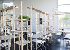 'Hacked IKEA furniture ' restaurant in the Hague by http://www.oatmealstudio.nl/