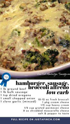 Casserole Recipes, Meat Recipes, Low Carb Recipes, Dinner Recipes, Cooking Recipes, Healthy Recipes, Beef Recipe Low Carb, Low Carb Casseroles, Ground Beef Recipes