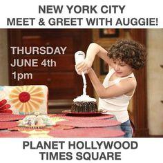 August Maturo Meeting Fans In New York City June 4, 2015 - Dis411