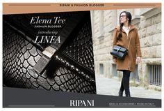 La fashion blogger Elena Tee ha indossato per voi la splendida borsa LINFA. Una passeggiata per le vie di Firenze è l'occasione ideale per un outfit raffinato e sbarazzino grazie all'elegante e versatile borsa a tracolla firmata RIPANI, disponibile sullo shop online http://goo.gl/Wnys9c. Leggi l'articolo sul blog http://goo.gl/NbIQ1r #stylish #inspiration #iloveshopping #fashionbloggers