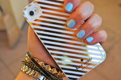 Kate Spade phone case. OMG I honestly can't handle this. I'm ordering this right now.