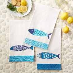 Cute fish for your nautical themed kitchen!