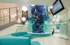 Interior of Royal Children's Hospital Melbourne. Just the right amount of colour and whimsy to be artful (not tacky).