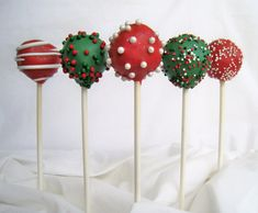 391 Best Christmas Cake Pop S Images On Pinterest Candy Recipes