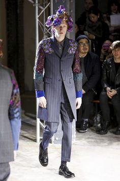 Comme des Garcons Homme Plus Menswear Fall Winter 2016 Paris