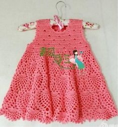 Dress for girl crochet #crochet #crocheting #crochetpattern #diy #tutorial #knitting