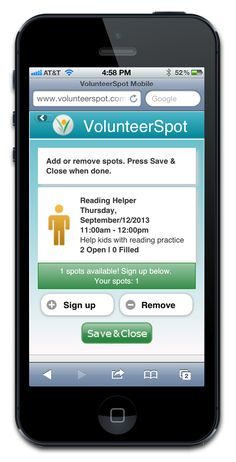 VolunteerSpot - I like this volunteer coordination website.  I may try it next year because you can collect $$, use it as an app and print things off for meetings when volunteers can sign up on paper.