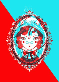 Red Head - Terrible Two's by Jodi Edwards, via Behance