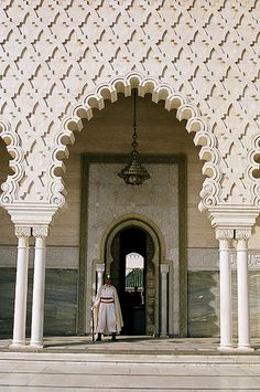 Mausoleum of Mohammed V, Rabat, Morocco - to visit - must see