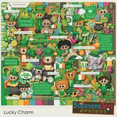 "BoomersGirl Designs: ""Lucky Charm"" Digital Kit"