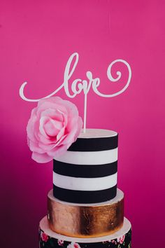 Express your LOVE with this calligraphy based cake topper! Adds a touch of romance and fun to your cake! Not getting married?? Think Valentines Day or