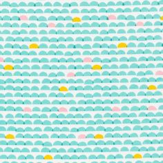 151103 Dawn | Turquoise Quilter's Cotton from Glint by Lorena Siminovich for Cloud9 Fabrics