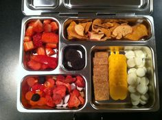 Planet box toddler lunch. Daycare theme this week is the color Red. Today's activity is painting apples. I made this lunch to match our lesson today!