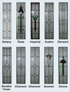 stained glass door panels for . Stained Glass Door, Leadlight Windows, Stained Glass Patterns, Cheap Stained Glass, Grill Door Design, Stained Glass, Beveled Glass Doors, Door Glass Design, Window Glass Design