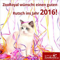 Wir wünschen einen tierisch guten Rutsch ins neue Jahr!