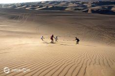 Y ahora tambien destilaza en las dunas de Huacachina en Sand Sky. Ica; Peru www.orotravelperu.com