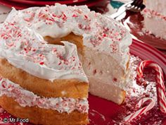 Holiday Cake - Make the holidays extra festive this year with this easy seasonal cake.