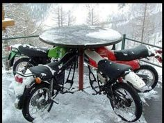 Motorcycle Table