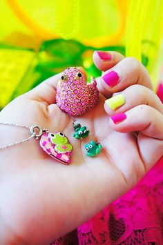 Loving my frog accessories ! -- #fashion #jewelry