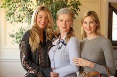 Three generations of Rhodes: Serena, Celia and Lily • Gossip Girl