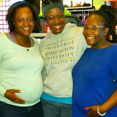 Tausi Suedi with expectant mothers. Every pregnant woman regardless of her geographic location, deserves quality maternal health services. In Hanover, Maryland (April 10, 2016).