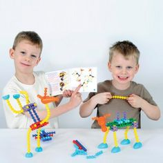 These Flexible Playstix add a whole new dimension to the Playstix experience. These special Playstix can be bent or twisted into all sorts of positions and can be used alone or combined with original Playstix. Includes snap on heads and feet to make endless combinations of crazy creatures.