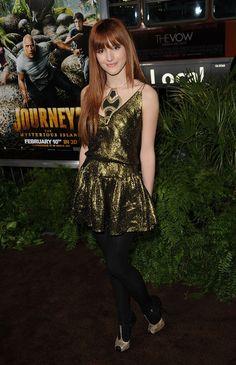 Bella Thorne Platform Sandals - Bella Thorne Looks - StyleBistro