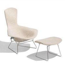 Bertoia Bird Lounge Chair  by Harry Bertoia produced by Knoll International 1952