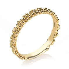 Annoushka 18ct Gold Daisy Stacking Ring