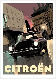 Citreon DS poster