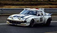 MAZDA Savanna RX-7 SA22C 12A (IMSA GTU)  by Z&W Enterprises(USA) - 1980 Le Mans, first completion by Japanese car