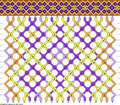 Friendship bracelet pattern 50674 new