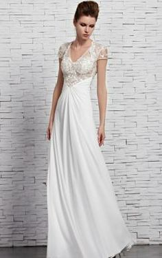 White Evening Dresses ! want it?