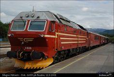 Di4 -diesellok på Nordlandsbanen